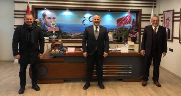MHP'li Başkanlardan MHP'li Başkana Ziyaret
