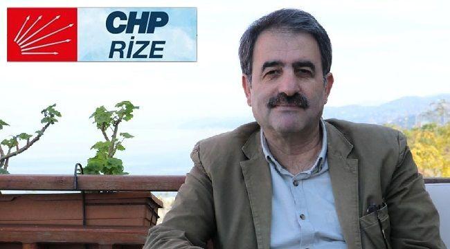 CHP Rize İl Başkanı Covid-19'a yakalandı