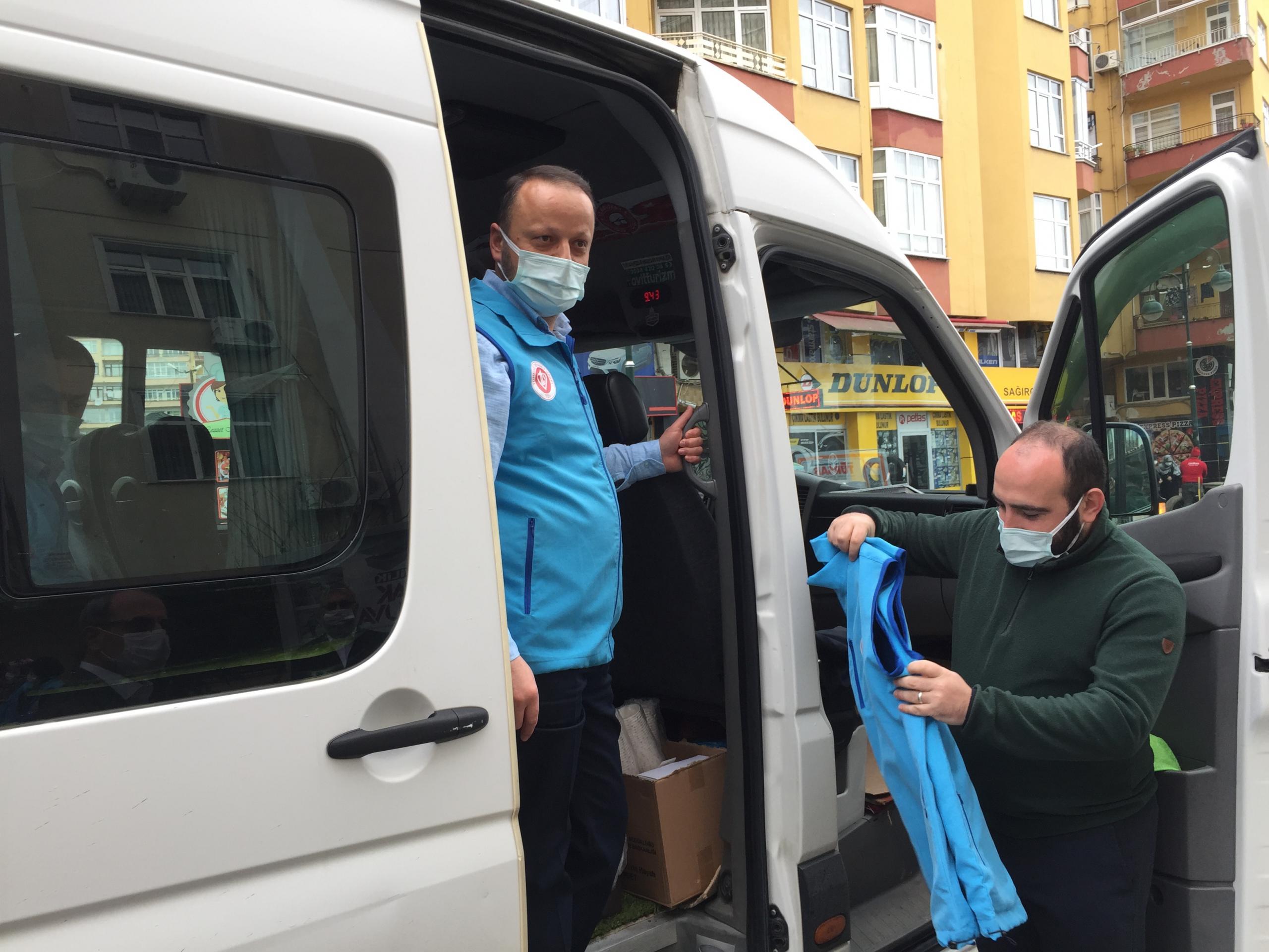TDV Gönülleri İyilik Götürmek Üzere İdlib'e Hareket Etti