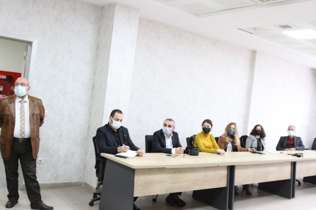 Rize'de, TRSM İl Koordinasyon Kurulu Toplantısı Düzenlendi