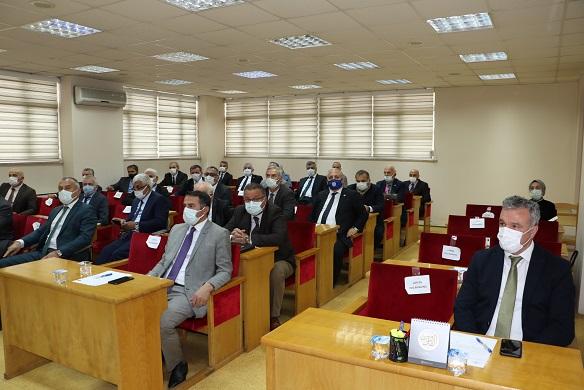 Rize İl Genel Meclisi Başkanı İbrahim Türüt Güven Tazeledi