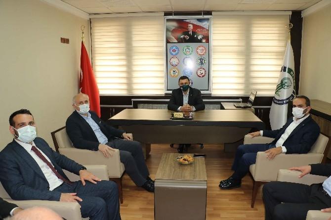 """AK Parti Rize İl Başkanı Alim; """"Hemşerilerimizle Hasret Gidereceğiz"""""""