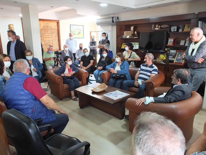 Tunceli Belediye Başkanı Maçoğlu, Rize'de Fındıklı Belediyesini Ziyaret Etti