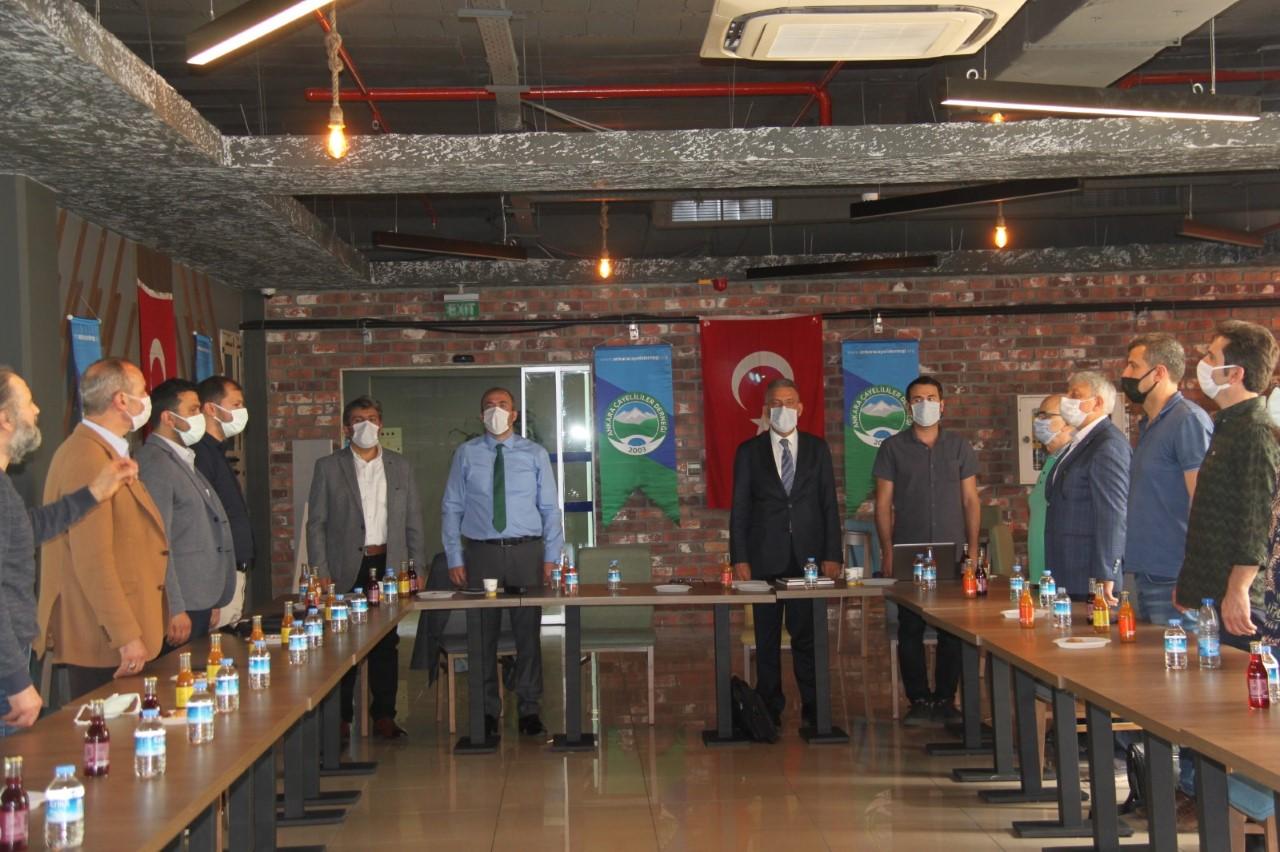 Ankara Çayeli Derneği'nde Genel Kurul Yapıldı
