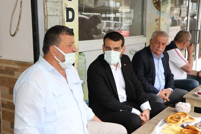 """AK Parti Rize Merkez İlçe Başkanı Ak: """"Ortak Paydamız Rize"""""""