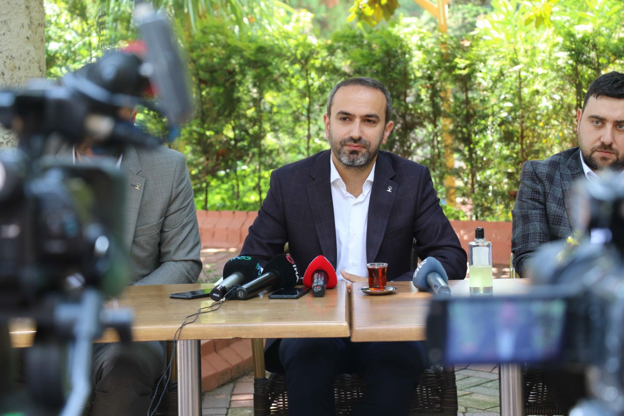 İl Başkanı Alim Rize Basınının Sorularını Cevapladı