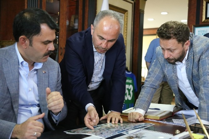 Çevre ve Şehircilik Bakanı Murat Kurum: Rize merkezde tarihi bir dönüşümü 1 yıl içinde tamamlayacağız