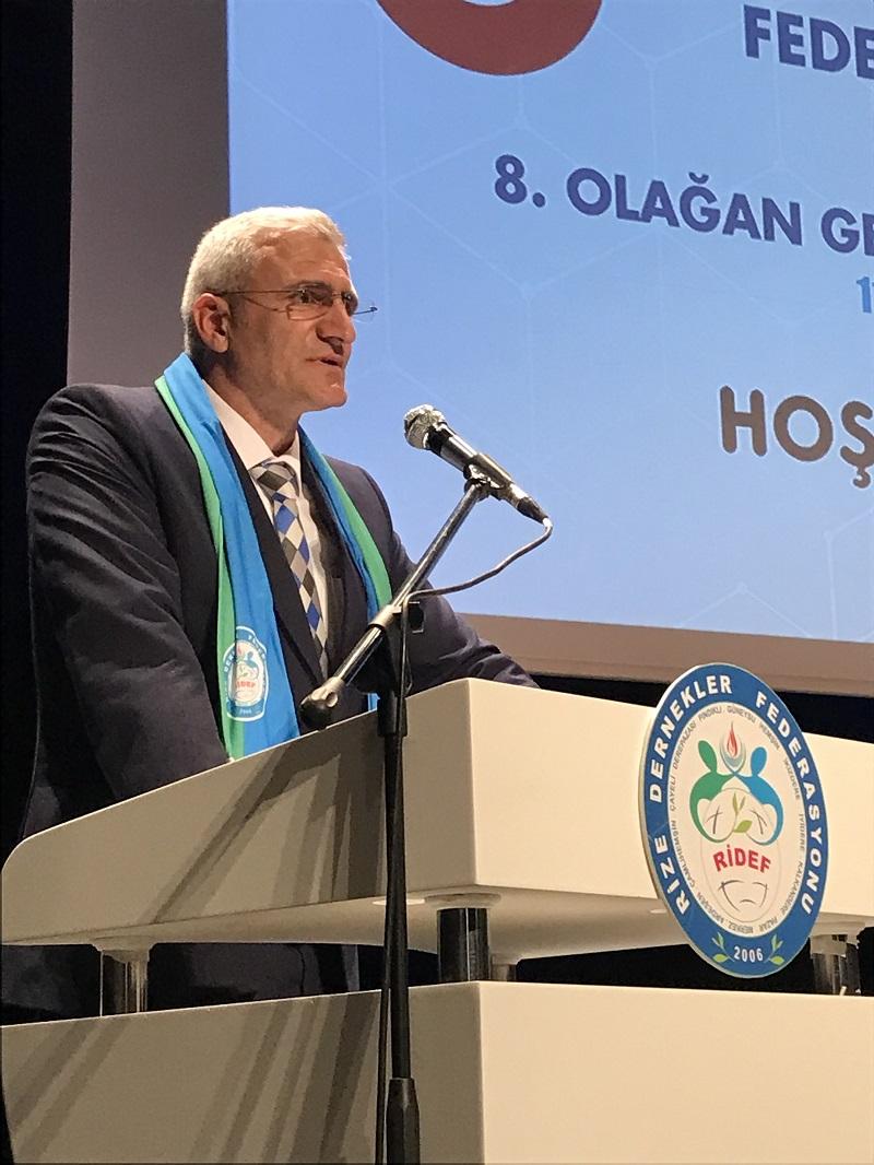 RİDEF Yeni Başkanını Seçti, Hasan BAŞÇA 5.Genel Başkan