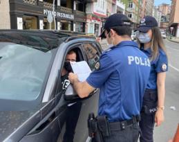 Rize'de Kovid-19 kurallarına uymayan 15 kişiye 45 bin lira ceza uygulandı