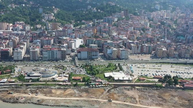 Rize'de Millet Bahçesi Projesi Hızla Devam Ediyor